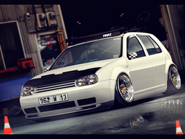 VW Golf IV by tuninger
