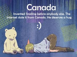 Canada Invents Snailing by lovelight27