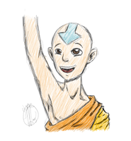 Aang b/c why not. by ThePepsiCommunist
