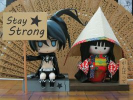 Stay Strong Ganbatte by chwan79