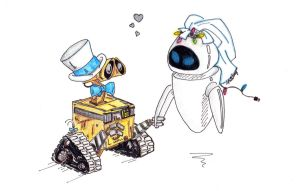 I Now Pronounce You Robot and Wife by dfritillary