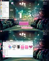 ShineL Theme for windows vista by alenet21tutos