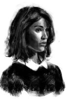 Gemma Arterton sketch by tonyob