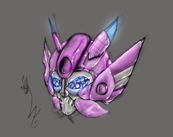 Elita One head Sketch by LyricaBelachium