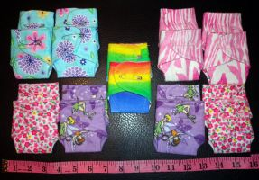 teeny girlie pie diapers by wiccanwitchiepoo