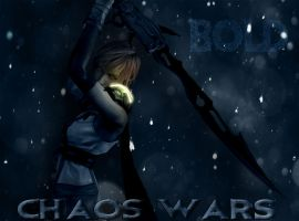 Chaos Wars - Lightning Farron (Gmod+Poster Style) by Herioc107