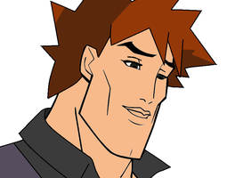 Handsome Face - Gary Oak by FireFoxOmicron