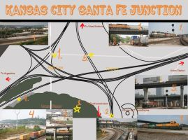 Santa Fe Junction by DragonWolfACe