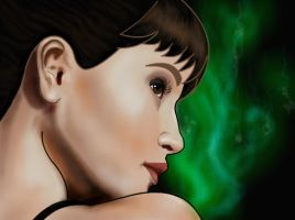 How to draw Gemma Arterton Part 3 by SketchHeroes