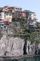 look to houses cinque terre 2 by ingeline-art