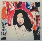 Bjork - Post cross stitch ( in progress ) by reitzg