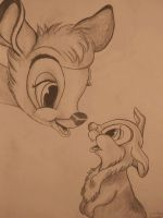 Bambi and Thumper by Aurora-Chemical