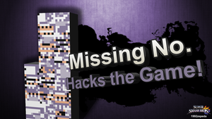 Super Smash Bros. Newcomer: Missing No. by 1992zepeda