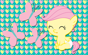 Baby Fluttershy WP by AliceHumanSacrifice0