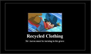Recycled clothing meme by 42Dannybob