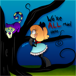 We're All Mad Here by FabyTetrix