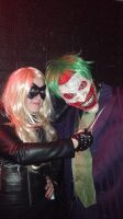 Death of the family Joker Cosplay and Black Canary by PumpkinSlasher9
