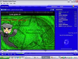 Danny in Windows Media Player by Laila-san