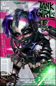 Tank Girl 20XL #01 by RAWhale