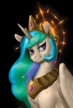 Babscon 2017: Celestia (Post Card) by Eosphorite