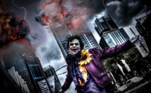 Ha Ha Ha He He He the Joker laughs at you! by CMOSsPhotography