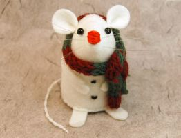 Jack the Snowmouse by The-House-of-Mouse