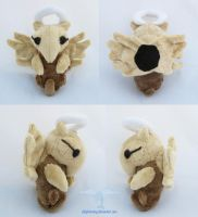 Shiny Shedinja Plush by dollphinwing