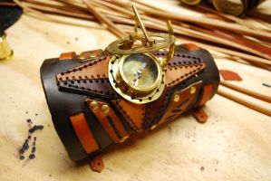 LEatherwork by Bluebenu