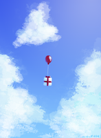 Gift from the Sky by vorpos