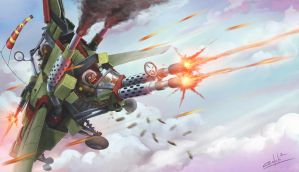 Flying Orkz by Zloy-Caleb