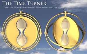 Free 3D Prop: The Time Turner by deslea