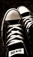 Converse - ALL STAR by ReseInsomniac