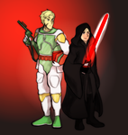 Redraw Star Wars Cosplay by LovelyPsychopath