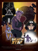 Commish - Death Star Poster by JoeHoganArt