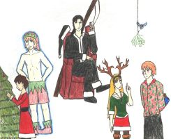 A TVPD Christmas by Leaviel