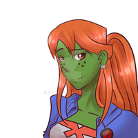 Miss Martian by hielorei
