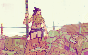 rey-a-day 96 baby banthas by michaelfirman