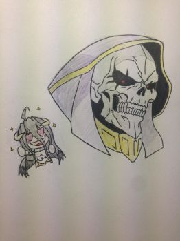 Ains and Albedo by Delsin-O-M-G-Rowe