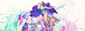 Katy Perry PSD Header by mrs-greendoctor