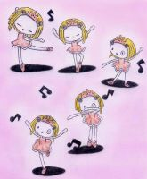 3.-lenore bailando ballet by The-Cute-Little-Dead