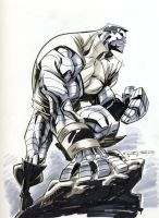 Sketch::Colossus by KharyRandolph