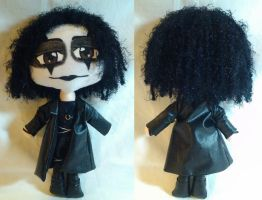 The Crow - Eric Draven MiniChibi Plush by mihijime