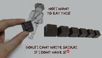 Saiyuki - Chocolates! V1 by cheekyangel004