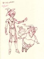 CDWS Witches by neilak20