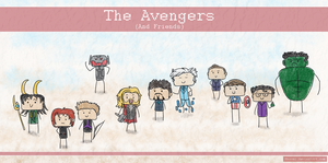 The Avengers and Friends by Naeomi