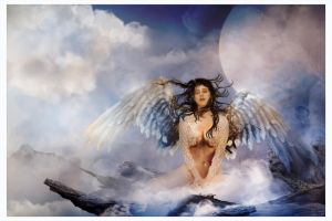 Collaboration:Fallen Angel by goor