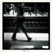 Station at rush time by luethy