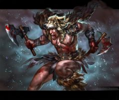 The Wolf Barbarian by Sinto-risky