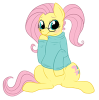 Fluttershy's Sweater by lulubellct