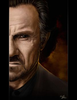 Badass Harvey Keitel by Sheridan-J